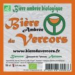 Biere du Vercors bio Ambrée