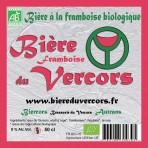 Biere du Vercors bio à la Framboise