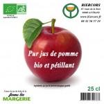 pur jus pomme bio pétillant Bière du Vercors Brasserie du Vercors AUTRANS