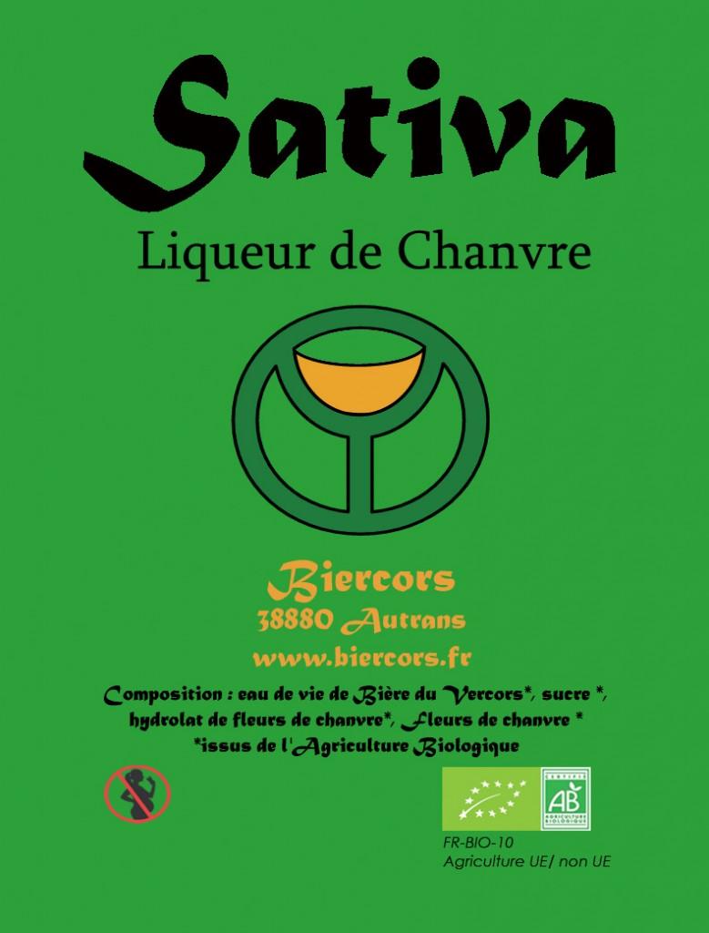 Liqueur de Fleurs de Chanvre du Vercors / SATIVA