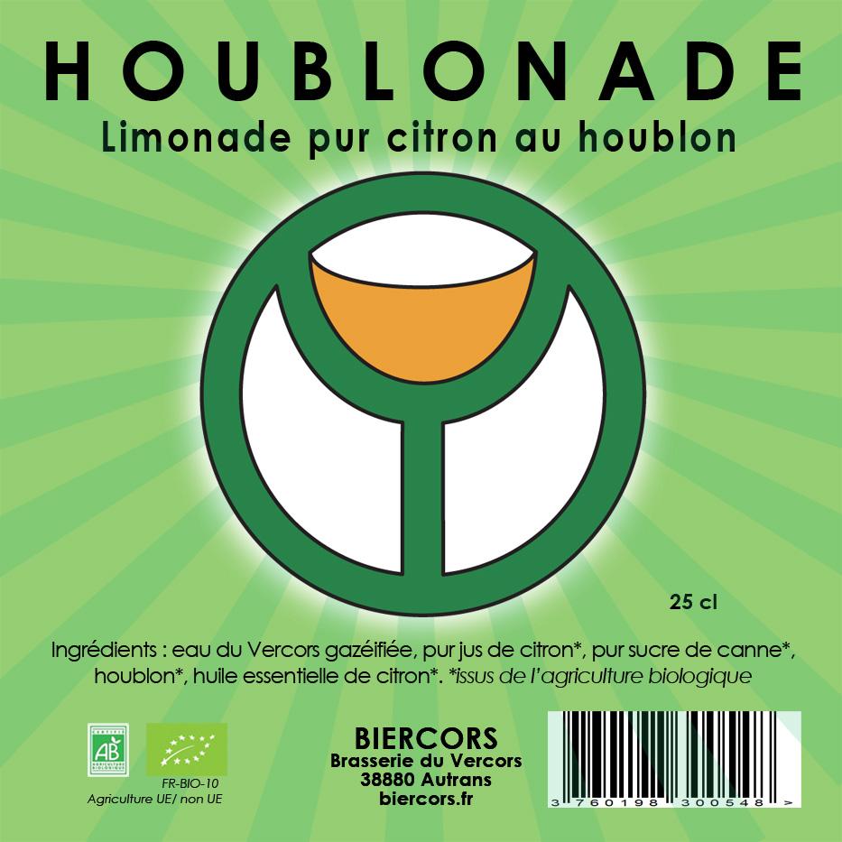 HOUBLONADE : La Limonade pur citron au Houblon !
