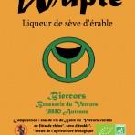 Liqueur bio de Sève d'érable : WAPLE
