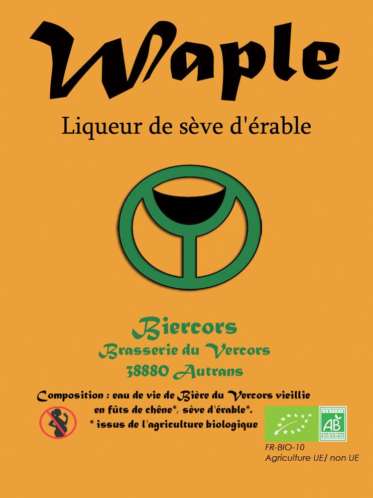 Liqueur de Sève d'érable : WAPLE