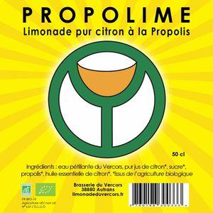 PROPOLIME : Limonade Pur Citron à la Propolis