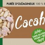 Pâte crémeuse bio de cacahuètes