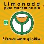Limonade bio pure mandarine