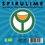 Spirulime : Limonade bio pur citron à l'extrait de spiruline fraîche
