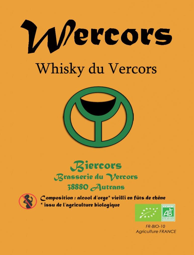 Le Whisky du Vercors : WERCORS