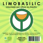 LIMOBASILIC : Limonade bio pur citron au Basilic !