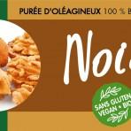 Pâte crémeuse bio de noix