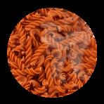 Pâtes biologiques 100% lentilles corail – sans gluten – Spirales 250g