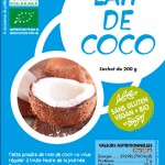 poudre de lait coco bio