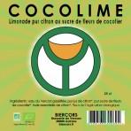 COCOLIME : Limonade bio pur citron au sucre de fleurs de cocotier