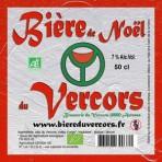Biere du Vercors bio Noël