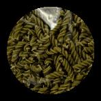 Pâtes biologiques 100% haricot mungo – sans gluten – Spirales 250g
